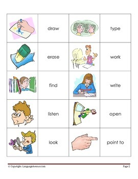 Classroom Activities - Basic Vocabulary in Pictures