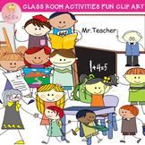 Doodle Classroom Activities Fun Clip Art