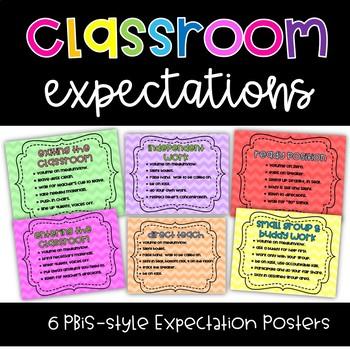 Classroom Activity Expectations