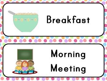Classroom Agenda