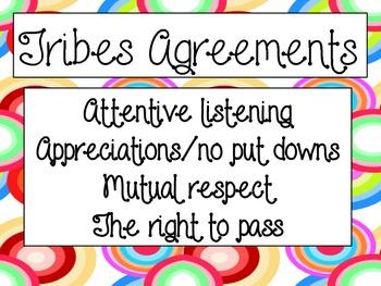 Classroom Agreements