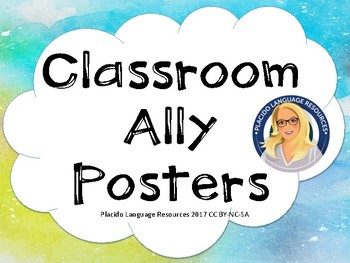 Classroom Ally Posters