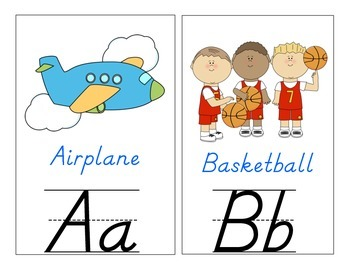 English Classroom Alphabet