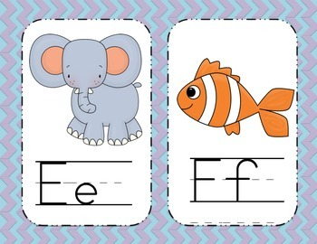 Alphabet Cards {for the Classroom}