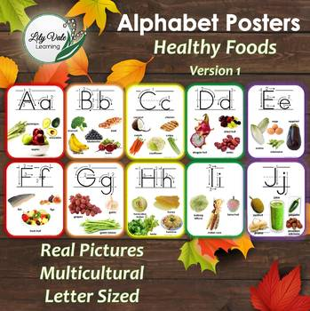Classroom Alphabet-Healthy Foods from Around the World!