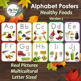 Classroom Alphabet-Healthy Foods from Around the World! Version 2