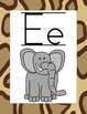 Classroom Alphabet ~ Jungle Theme