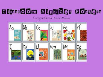 Classroom Alphabet Posters: Early Childhood Books