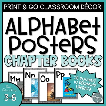 Classroom Alphabet Posters: Intermediate Chapter Books