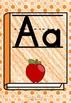 Classroom Alphabet Posters | Manuscript/Printed | Orange Crayon Book | B 1.3 C
