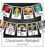 Classroom Alphabet Set - Modern Manuscript Style Script {P