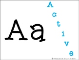 Classroom Alphabet - character trait theme
