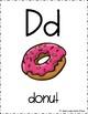 Classroom Alphabet - food theme