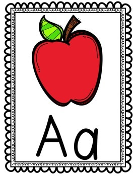 Classroom Alphabet/Colors/Shapes/Play-Doh letter Posters