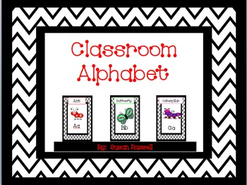 Classroom (Animal) Alphabet