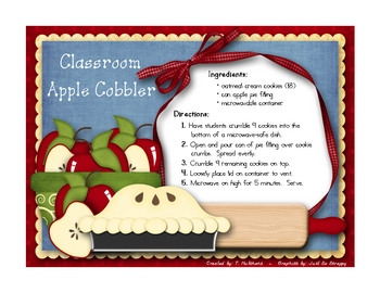 Classroom Apple Cobbler
