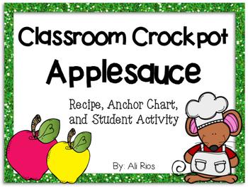 Classroom Applesauce Activity