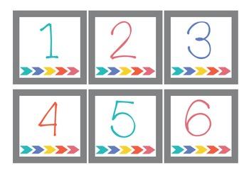 Classroom Arrows Calendar Set!