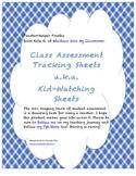 Classroom Assessment Tracking Freebie