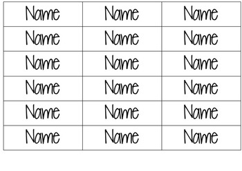 Classroom Assistants Posters & editable name tags