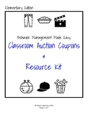 Classroom Auction / Rewards Kit