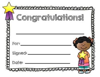 Classroom Award Certificates BUNDLE