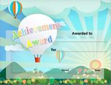 Classroom Award Template