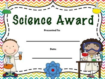 Classroom Award Certificates
