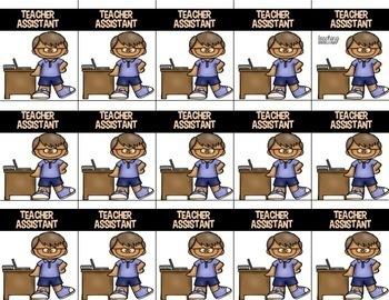 Classroom Brag Tags