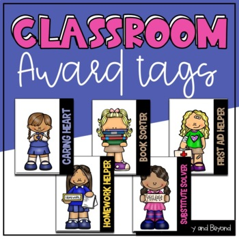Brag Tags: Motivational Classroom Awards