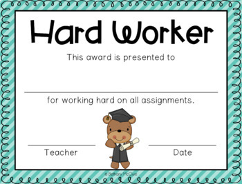 EDITABLE Awards and Certificates | Classroom Awards - Stripes