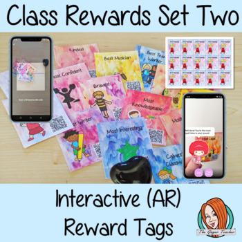 Classroom Awards Interactive (AR) Reward Tags Set Two