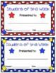 Classroom Awards & Postcards