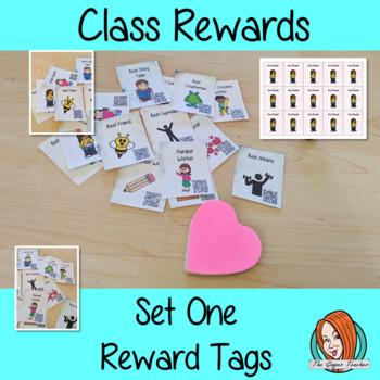 Classroom Awards Reward Tags Set One