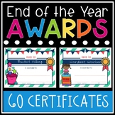 Printable Classroom Awards - Student Awards - End of the Y