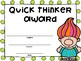 Classroom Awards Trolls