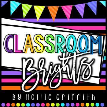Classroom BRIGHTS Decor BUNDLE