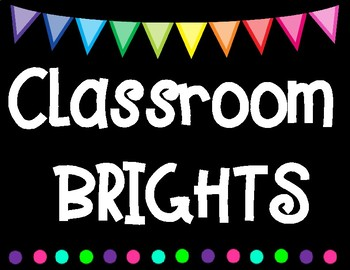 Classroom BRIGHTS Subject Labels