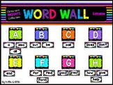 Classroom BRIGHTS: Word Wall Headers & Words
