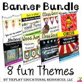 Classroom Banner Bundle