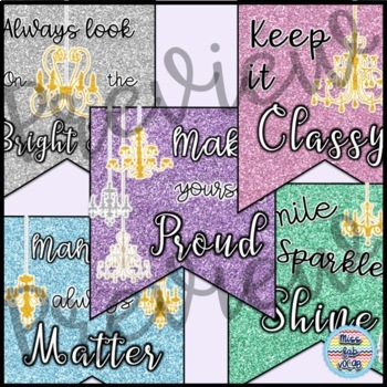 Classroom Banner: Classy Quotes!