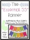 Classroom Banner Essential 55