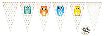 "Classroom Banner- Owl Theme, ""Look Whooo's In Grade..."""
