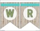 Classroom Focus Wall Banners - Rustic Farmhouse Chic