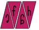 Classroom Banner (pink and purple stripes)