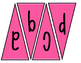 Classroom Banner (pink and white stripes)
