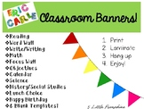 Eric Carle Inspired Classroom Banners