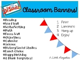 Dr. Seuss Inspired Classroom Banners