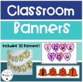 Classroom Banners Bundle