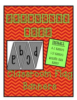 Classroom Banners (Gray polka dots)